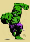Hulk by David Finch (Colored) by TheComicBookMaster
