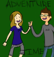 Adventure Time With Matt and Hailey by Wall-Staples