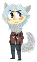 AT: arctic foxy by bPAVLICA