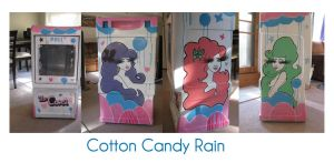 Cotton Candy Rain by aprilmdesigns