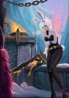 LoL - Snow Bunny by cubehero