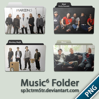 Music Folder 6 PNG by sp3ctrm5tr