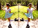 50's Roller Skate Girl by PhotoMissy