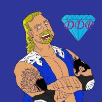 Diamond Dallas Page by McGreger16