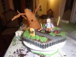 Halloween cake by Kate078