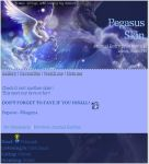 Pegasus Night Journal Skin by mxlove