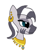 Older Zecora Headshot by StarryOak