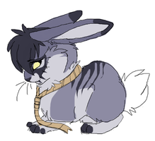 Halloween Bunny by MBPanther
