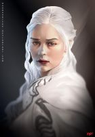 Khaleesi The Mother of Dragons by Kevin-Glint