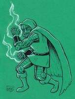 DR. DOOM by SethWolfshorndl