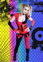Arkham City Harley Dress Up by drowningstar