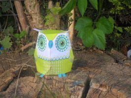 Little green owl 2 by Kirsty2010dodgs