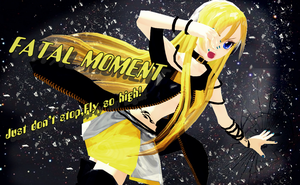 MMD Fatal Moment by brsa