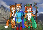 Foxes in the Tower by NeroUrsus