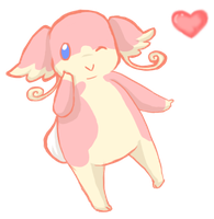 Audino used Attract by Millenium-Lint
