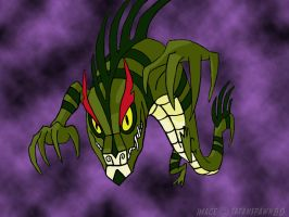 Chase's Dragon Form by satanspawn80