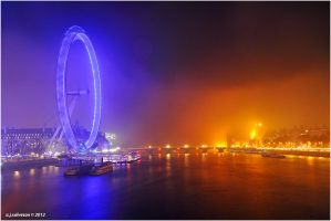 foggy night. by andy-j-s