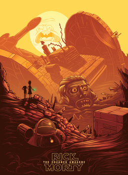 Rick and Morty: The Squanch Awakens by CyberToaster