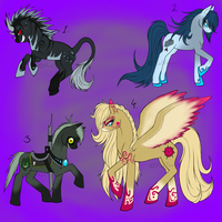 Pony Point Adoptables -CLOSED- by Rafflon