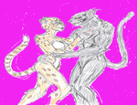 Cheetah and Tyrus by theaven