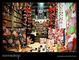 Antique Hina Display by rannedrop