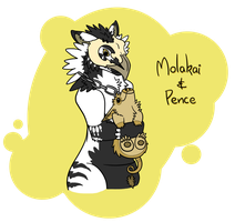 Molakai and Pence by Sludgy