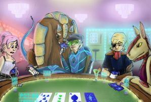 Space Poker by Phatmouse09