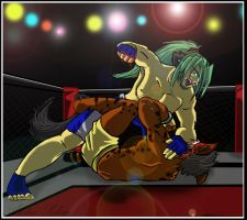 UFC Fight Night by Arctic-Sekai