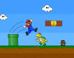 Super Mario by Aidec-Naberrie