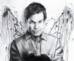 Dexter - Freehand Drawing by ZackBag