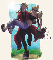 Ed, you're crazy! by sharadaprincess