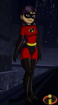 Violet Parr (COLLAB) by DJWill
