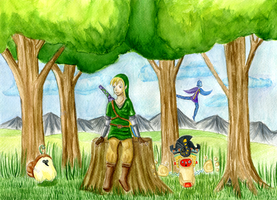 Skyward Sword: Simple Moments by ninakuru