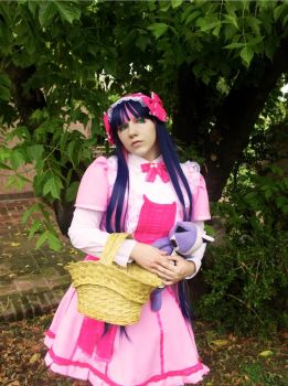 Stocking Pink Dress Cosplay by LiryoVioleta
