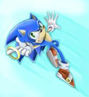 Sonic by limirina