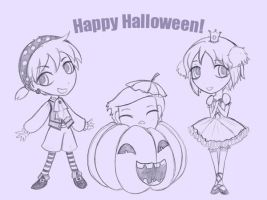 Happy Halloween 2009 by Once-and-Again