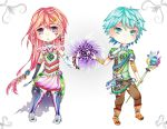 Lucent Mystic Chibis by mfang17