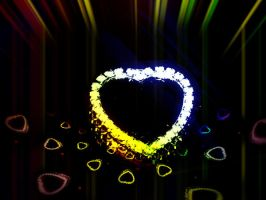 Heart of a rainbow by LBBPhotography