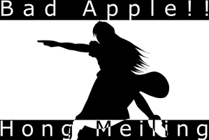 Bad Apple   Hong Meiling  Reg  by BattleJesus Two young nude lovers with red apple Stock Photo   5469001