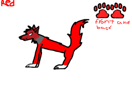 red ref (redone on paint tool sai) by tereuswolf46