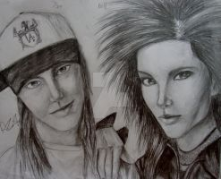 Kaulitz Twins: Bill and Tom by MoonlitViolins