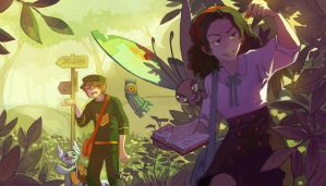 Adventure and Science by Vhu