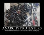 Anarchy Protesters by Balddog4
