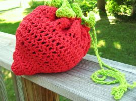 strawberry handbag by stellachan