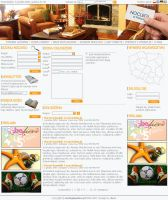 Layout for noclegiwpolsce.pl by Arce