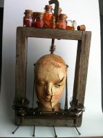 Found Object Sculpture - Front by LaggyCreations
