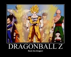 DragonBall Z Rock the Dragon by Onikage108
