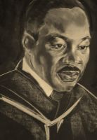 MARTIN LUTHER KING, JR. by artistkatelynne
