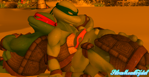 TMNT - Turtle Nap by SilverMoonCrystal