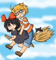 Sakura's delivery service by SparxPunx